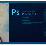 photoshop splash page